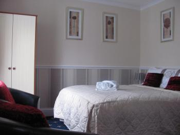 This is room 2. A Good size Double  room with ensuite shower room,tea and coffee making facilities,colour tv .