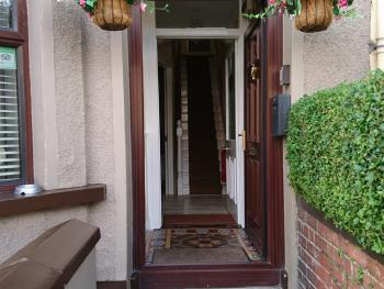 Front entrance to the B&B