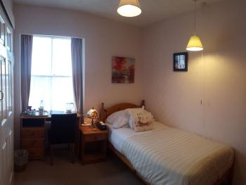 Single en-suite room with sea views. 3rd Floor