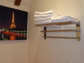 Chambre familiale Cône d'Or - salle d'eau