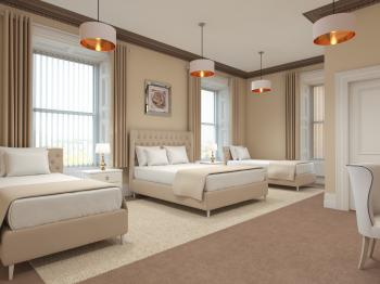 Open Plan Family Room (Sleeps 4, CGI)