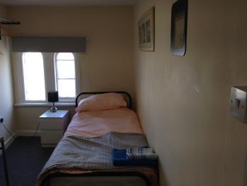 Single room-Comfort-Shared Bathroom-Grey Room