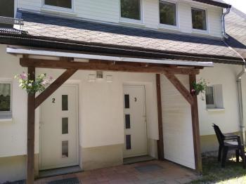 Eingang Familienzimmer für 4 Personen
