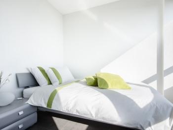 Chambre Simple Confort no 3 avec vue sur le lac et les montagnes