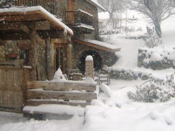 La Fernande sous la neige