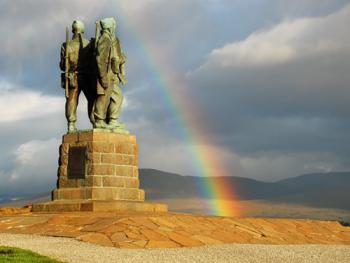 Commando Memorial - 200 yards from the hotel