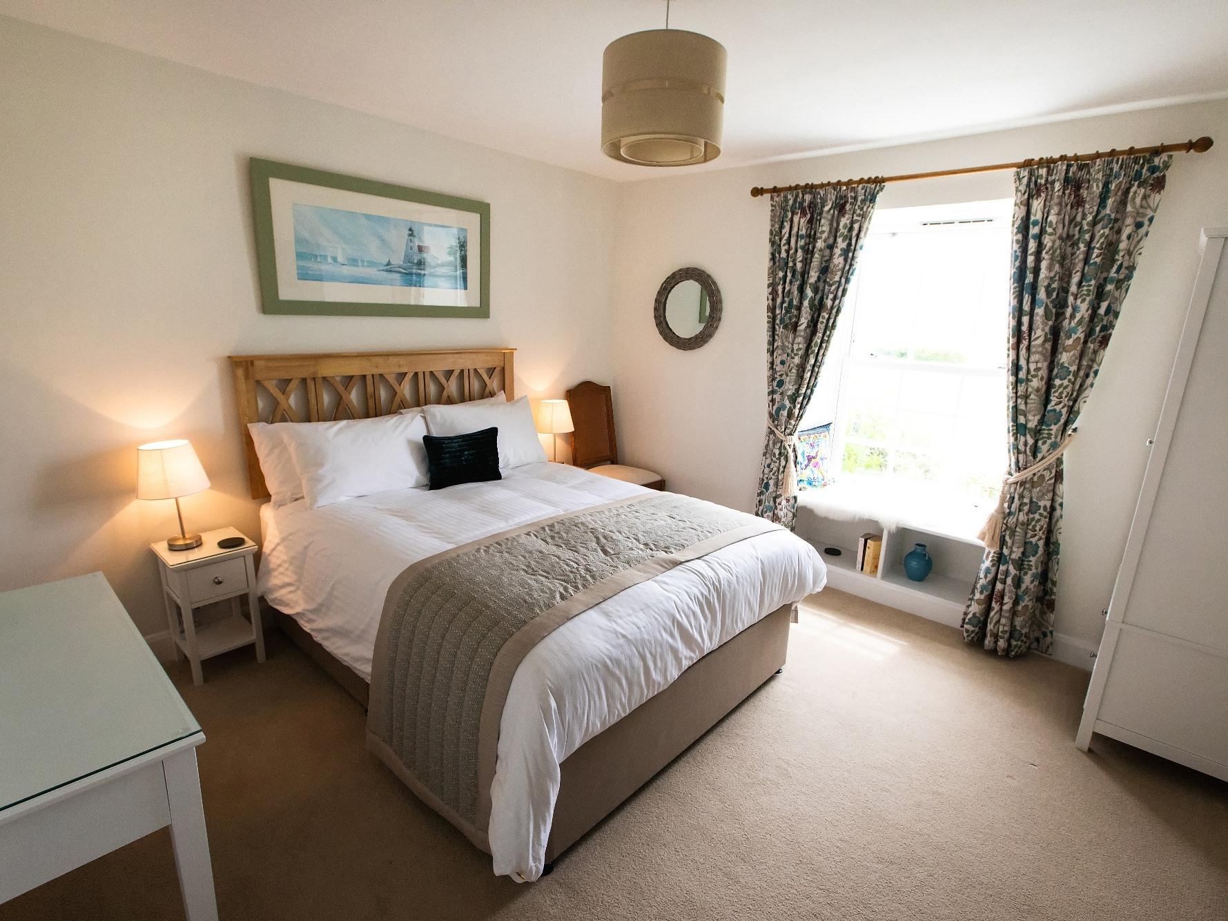Double room-Luxury-Ensuite with Bath-Garden View-Lowarth