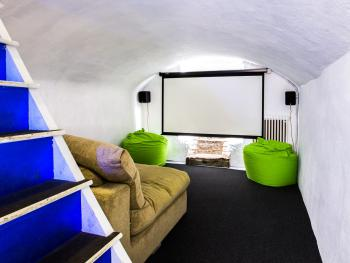 Cellar cinema available for holiday let guests only