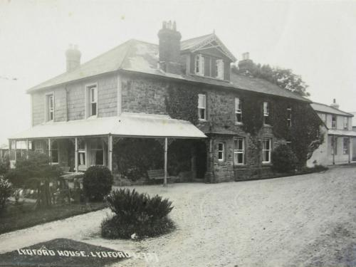 Lydford House Postcard