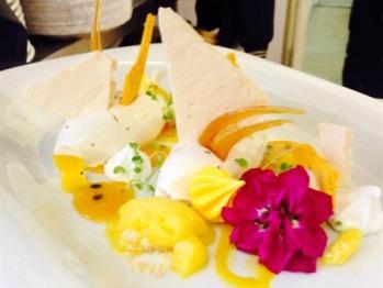 Mango & Passion Fruit Eton Mess