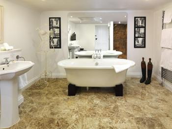 One of our stylish modern luxury bathrooms
