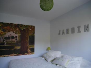 chambre double Jardin au Carré