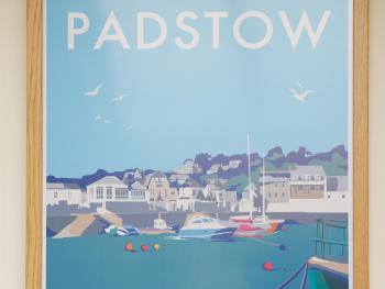 Near and convenient to the lovely harbour town of Padstow is where the name for room 2 came from.