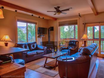 Living Room of Riverfront Suite