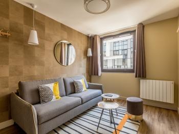 Cosy appartement une chambre - Vue rue