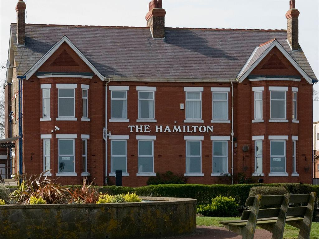 Front of The Hamilton Lodge