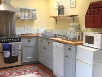 The Wheelwrights kitchen