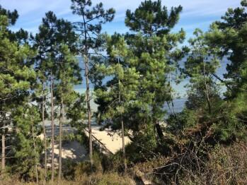 plage du lac aux Hautes Rives