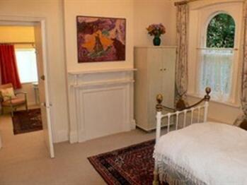 Luxury furnishings, art works, lots of storage space, assorted teas & coffees, digital TV,  broadband access - in the Twin Suite