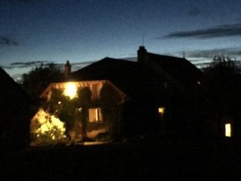 Vue de nuit....