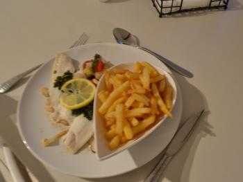 Lemon Sole and French Fries - Limande sole et Frites