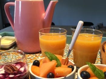 Salade de fruits Melon/Myrtilles