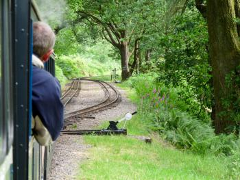 "Ride on the mini steam engine (AKA ""Ratty"") between Ravenglass and Boot makes a great day-out for anybody"