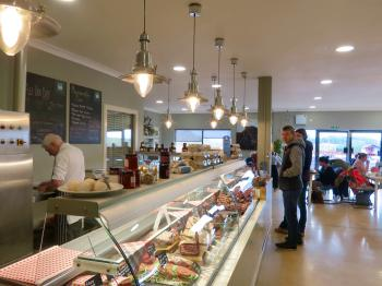 Our well stocked farm shop bursting with local produce.