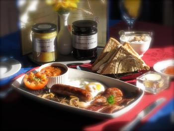 Atlanta Guest House - Who could resist a Yorkshire Breakfast at the Atlanta...