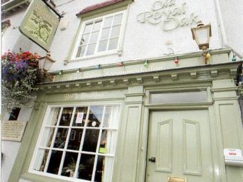Old Royal Oak - The Front door to the bar