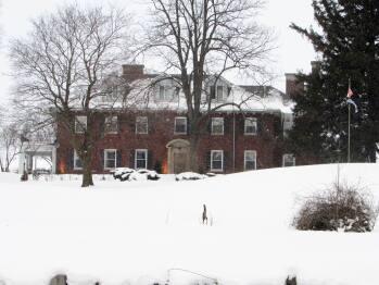 Clonmel Castle in Winter