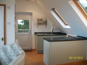 kitchen area the Studio