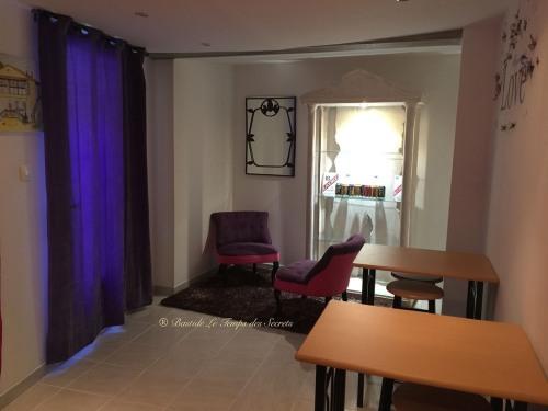 Petit Salon à disposition de nos hôtes