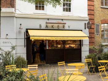 Delicious local bakery in Battersea Square