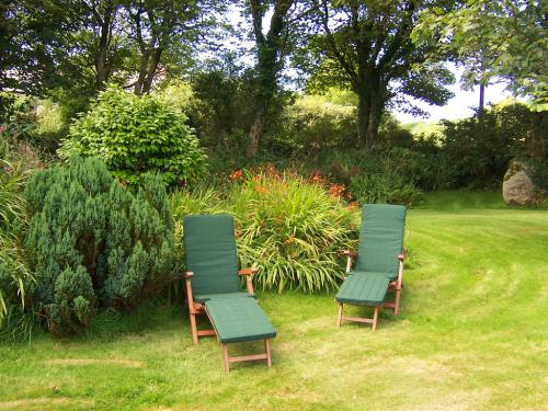 The delightful garden for guests to enjoy.