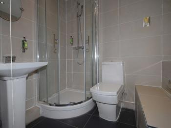One of our guest bathrooms