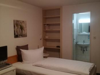 Einzelzimmer-Standard-Eigenes Badezimmer-Gartenblick