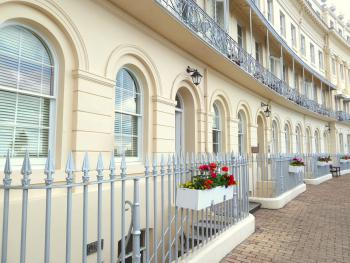 Hesketh Crescent Apartment - Hesketh Crescent Apartment - located in a stunning Regency crescent on an elevated position overlooking the sea.