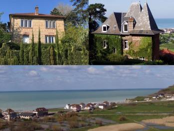 Marguerite & Vert Bois : deux villas devant la mer