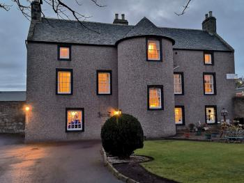 Dusk view of Lossiemouth House