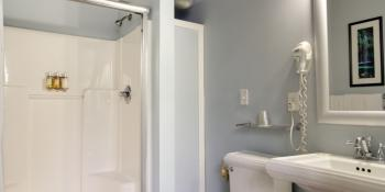 Bathroom in the Bird of Paradise Room