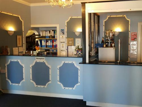 Reception and bar?  Please note that the bar is temporarily unavailable but expected to be reopened shortly.