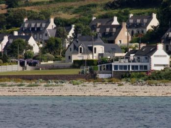 La maison du Lenn vue de la mer