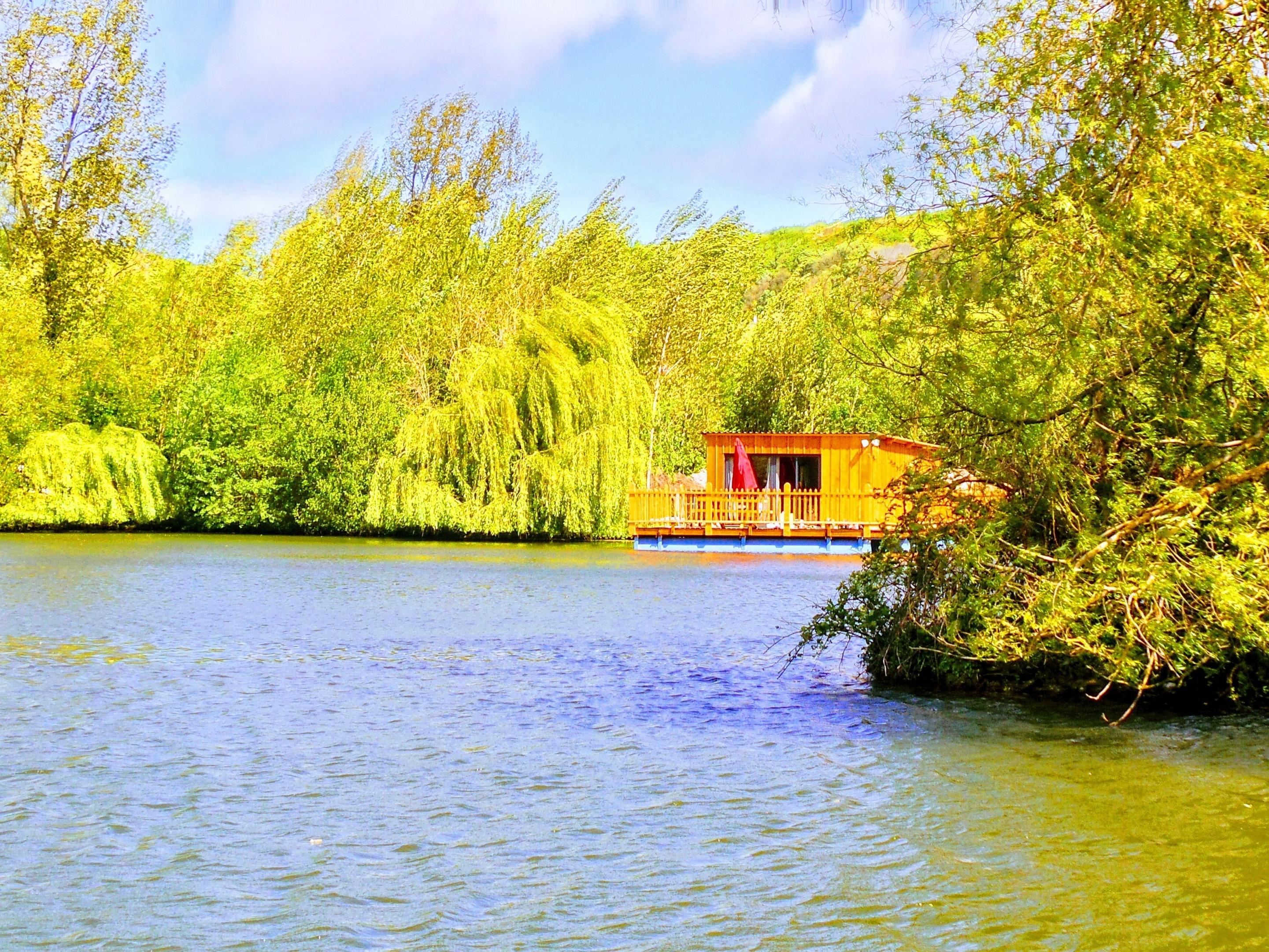 Cabane-Les Songes de Steph-Salle de bain privée séparée-Vue sur Lac - Tarif de base