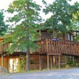 Cabin-Shared Bathroom-Family-Countryside view-Adair Lakehouse # 2