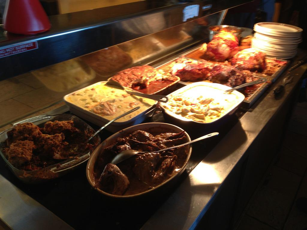 Dusty's New look carvery