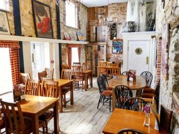 Comfortable internal dining areas
