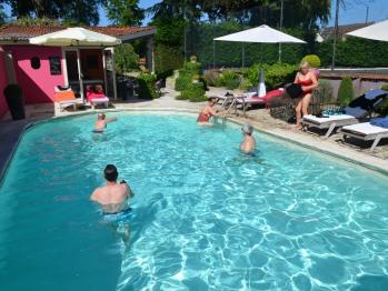 Espace  piscine , domaine de la Frênaie , Valenciennes