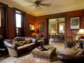 FIRST FLOOR- COMMON AREA- SITTING OR FAMILY ROOM- w/Comfy Lounging Chairs for Socializing & Reading