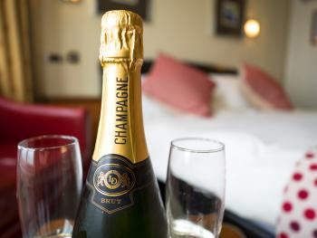 Relax and enjoy the view with a glass of Champagne!